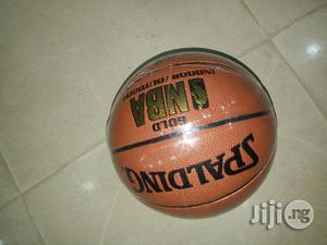 Gold Spalding Basketball   Sports Equipment for sale in Lagos State, Surulere
