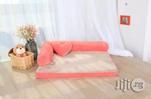 Double-cushion Dog Bed Breathable Cotton Dog House   Pet's Accessories for sale in Lagos State, Ifako-Ijaiye