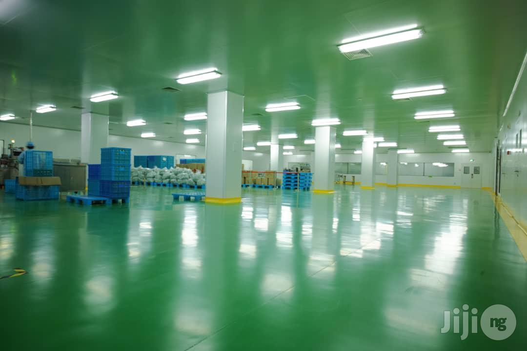 Epoxy Industrial Floor Coil