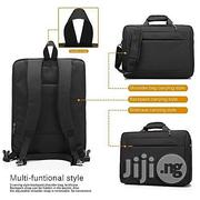 Coolbell 17.3 Inch Multi-Functional Back Pack Professional Look and Unique- Black | Bags for sale in Lagos State, Ikeja