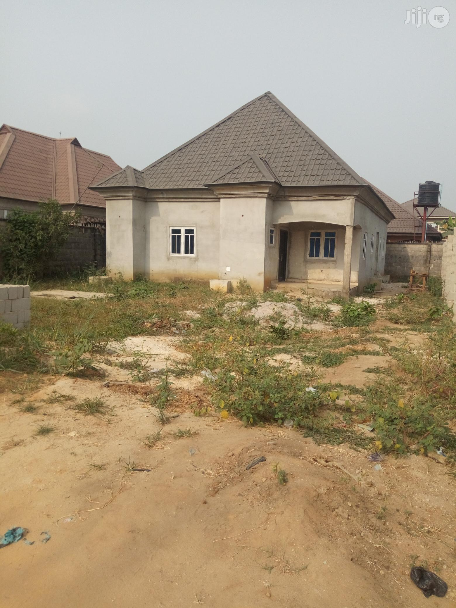 Brand New 3bedroom Bungalow On 1plot Of Land At Sars Rd Off Rumuigbo