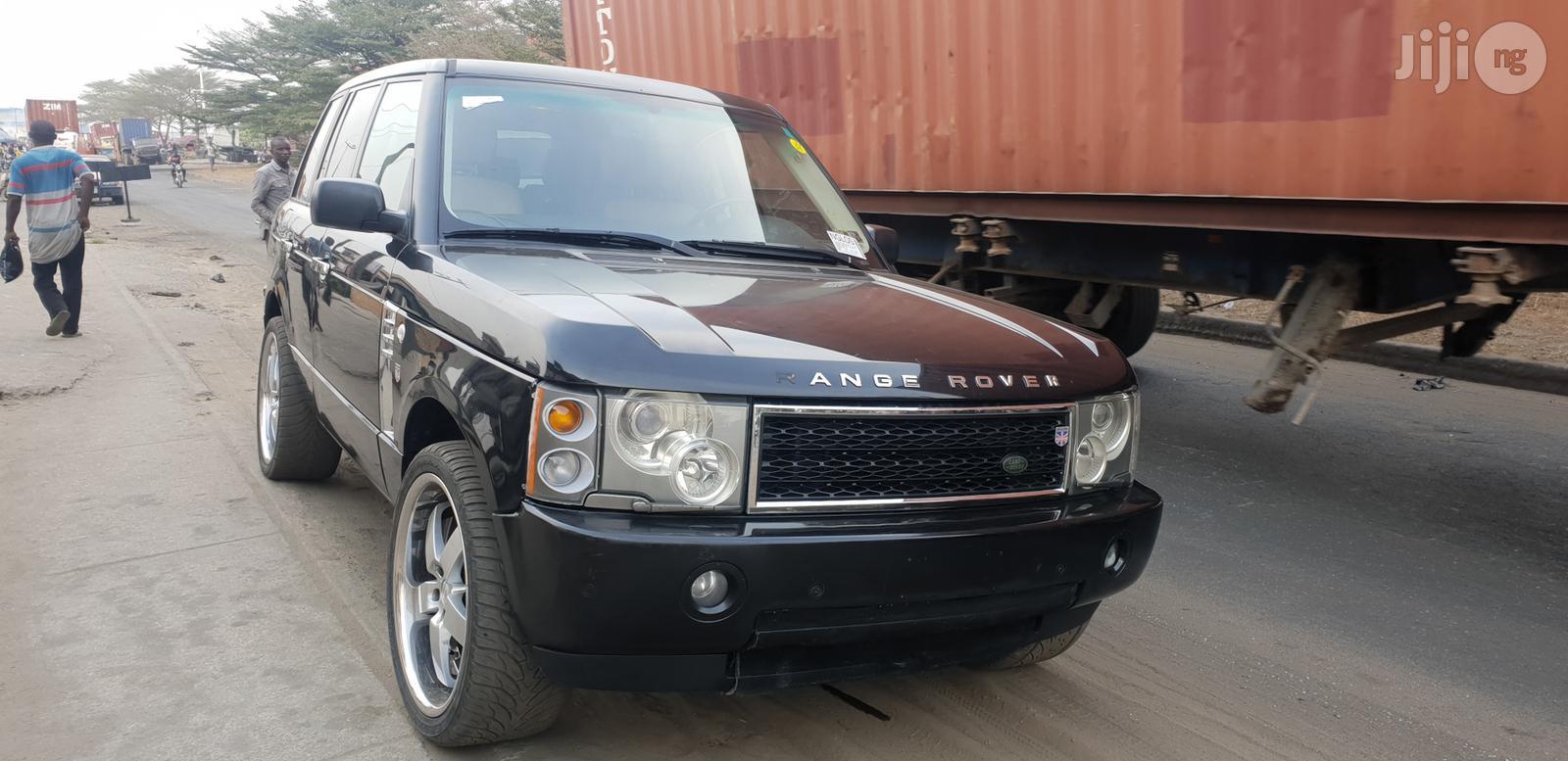 Land Rover Range Rover Sport 2003 Black