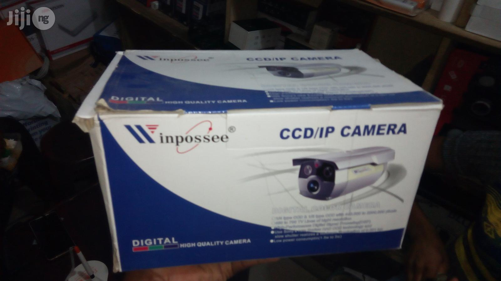 Winpossee Analog CCTV CCD Camera Indoor - 8mm | Security & Surveillance for sale in Ikeja, Lagos State, Nigeria