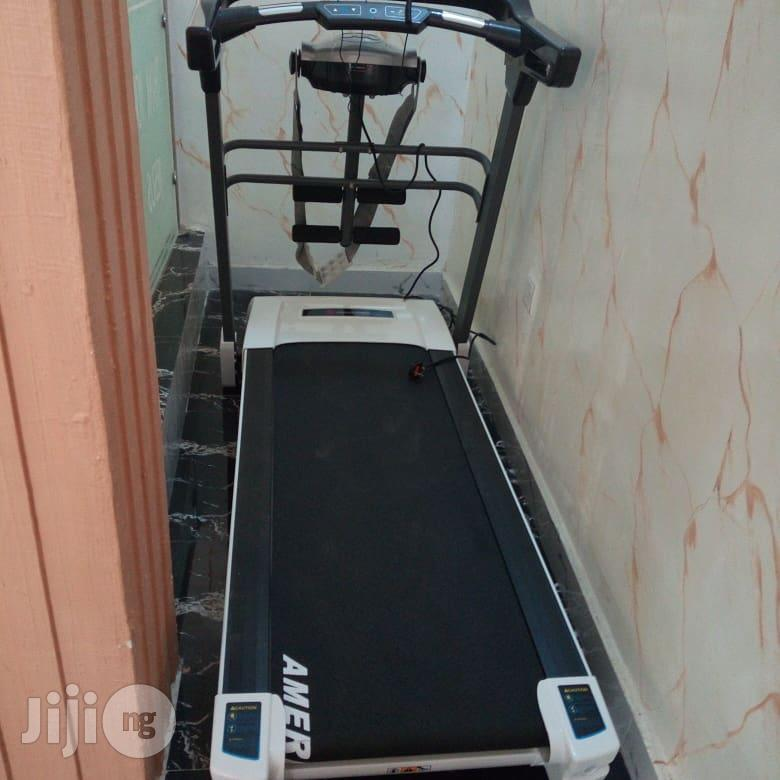 Archive: 2.5hp American Fitness Treadmill With Massager