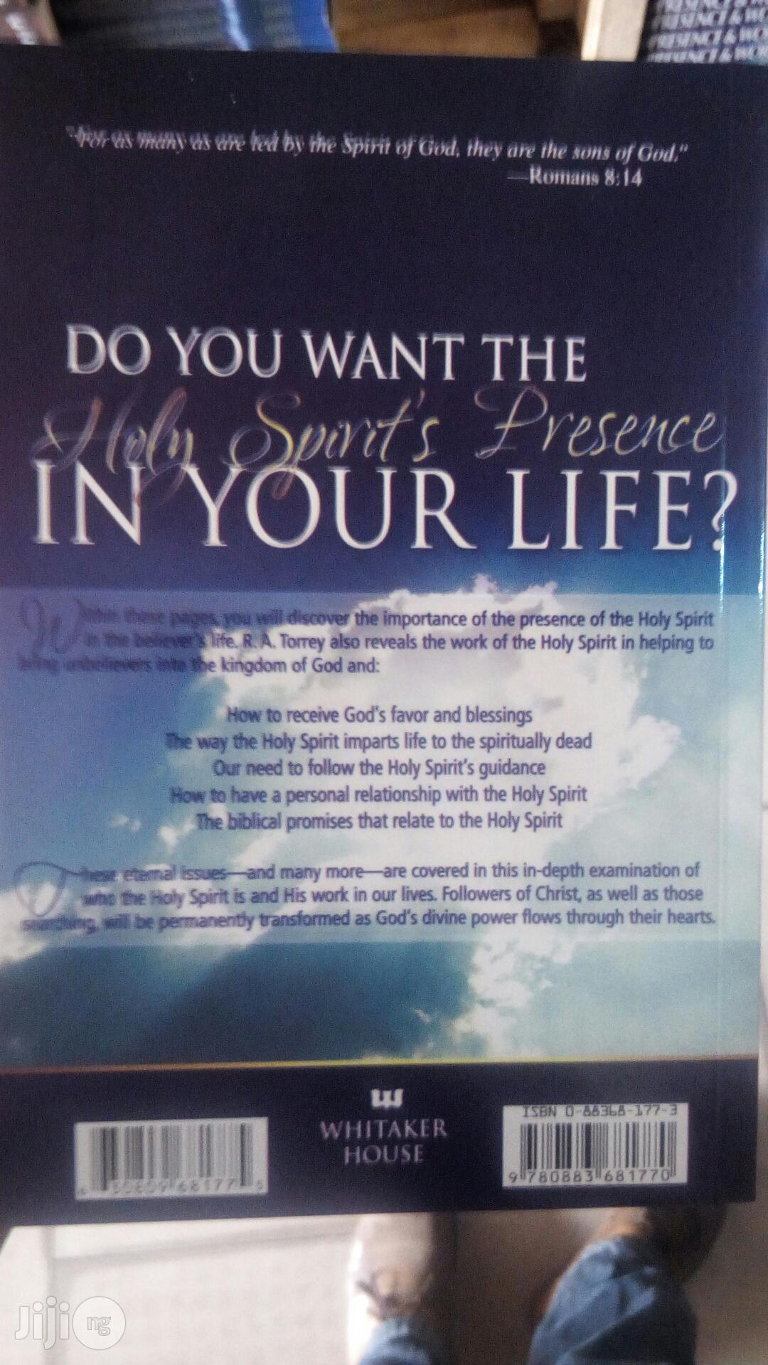 Presence And Work Of The Holy Spirit By R A TORREY   Books & Games for sale in Yaba, Lagos State, Nigeria