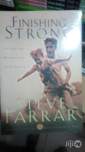 Finishing Strong By Steve Farrar   Books & Games for sale in Lagos State, Yaba