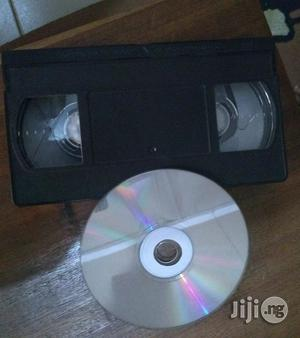 Copy Vhs Cassettes to Flash Drives, DVD or Vcd | Photography & Video Services for sale in Lagos State, Surulere
