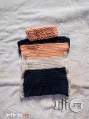 Crocheted Baby Sleeveless Cardigan | Children's Clothing for sale in Lagos State, Yaba