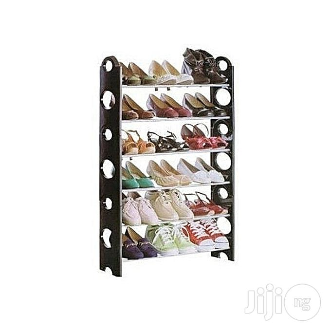 Generic Shoe Rack 6 Layer/Tier Quality Diy Shoe Organizer 18 Piers