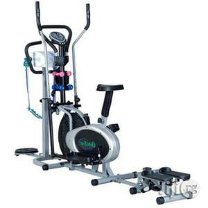 Orbitrac Bike With Dumbbell, Stepper, and Massager | Sports Equipment for sale in Lagos State, Surulere