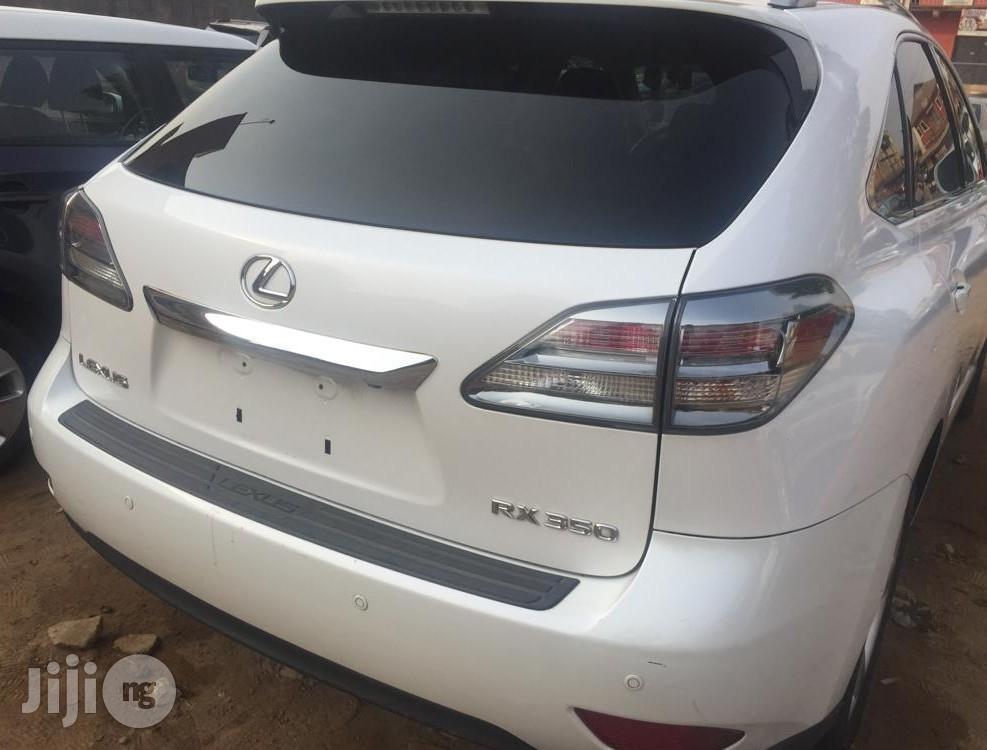 Lexus RX 2012 350 AWD White   Cars for sale in Ibadan, Oyo State, Nigeria