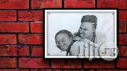 Professional Pencil Drawing With Frame   Home Accessories for sale in Lagos State, Ikeja