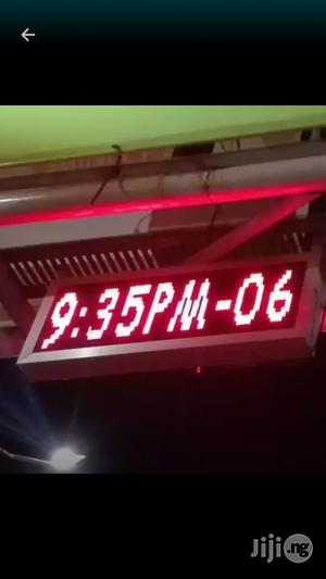 Outdoor Digital Clock In Need   Home Accessories for sale in Lagos State, Mushin
