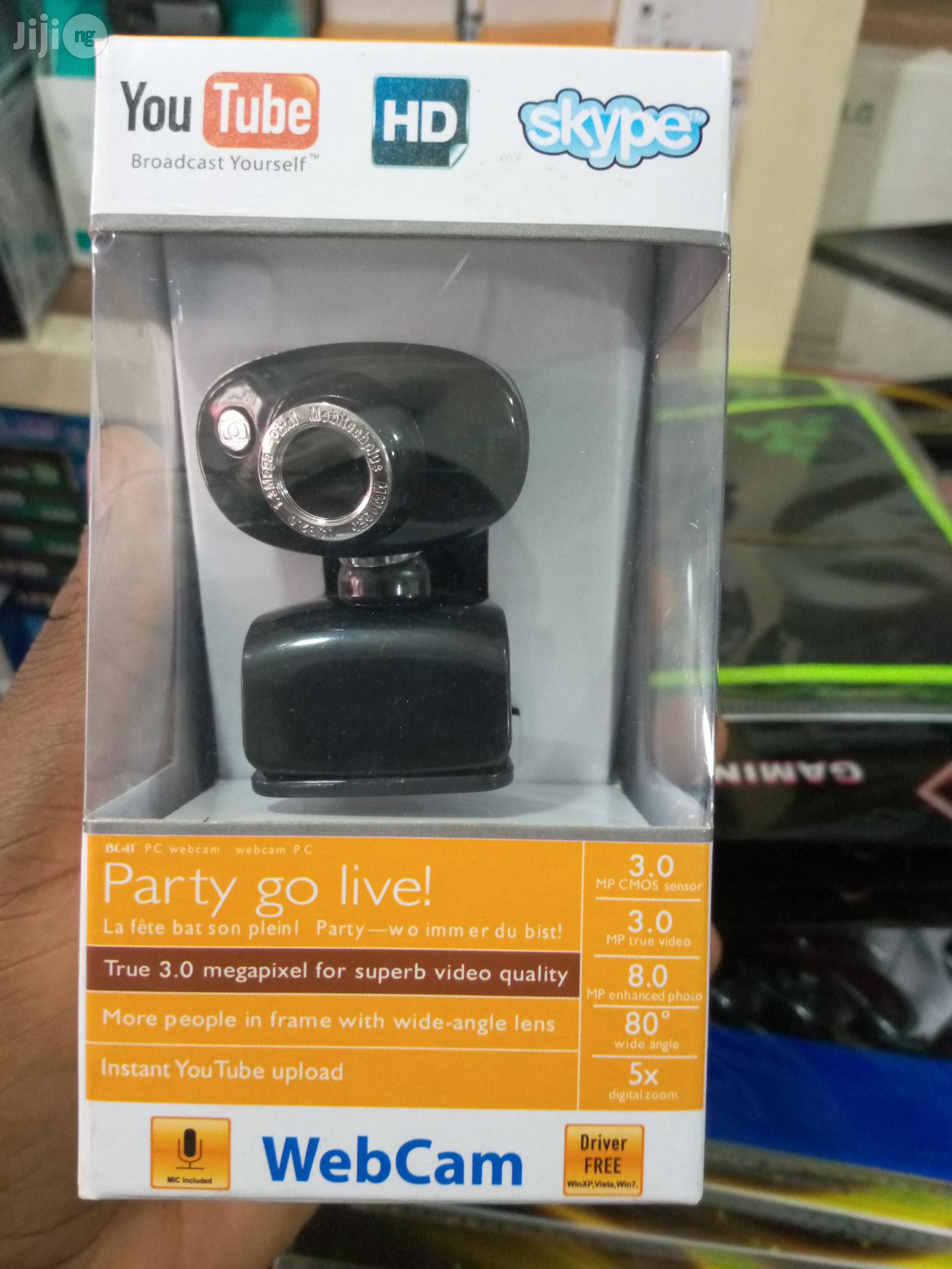 Bc&It Generic Hd Webcam | Computer Accessories  for sale in Ikeja, Lagos State, Nigeria
