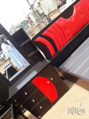 Furniture - 6x6 Wooden Bed Frame | Furniture for sale in Abuja (FCT) State, Wuse