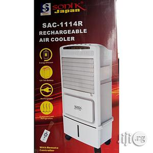 Sonik Rechargeable Air Cooler With Remote Control and Wheel | Home Appliances for sale in Lagos State, Ikorodu