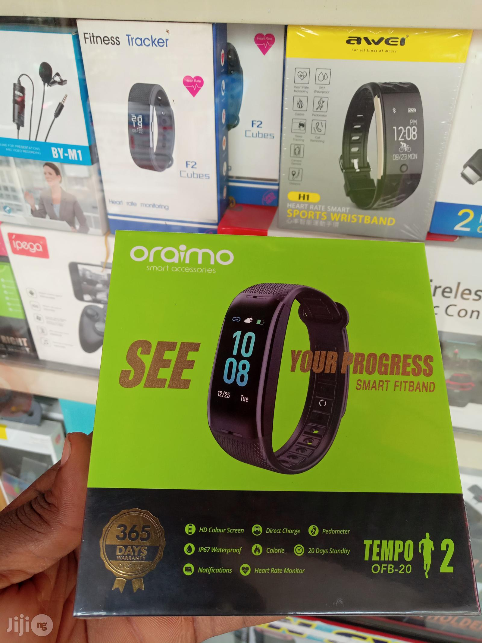 Oraimo Smart Fit Band OFB-20 Tempo 2