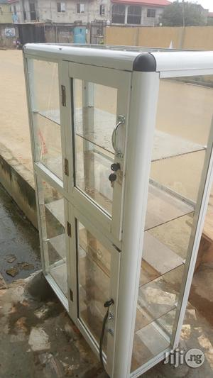 Showglass At Its Peak With Double Sliding Doors | Store Equipment for sale in Lagos State, Alimosho