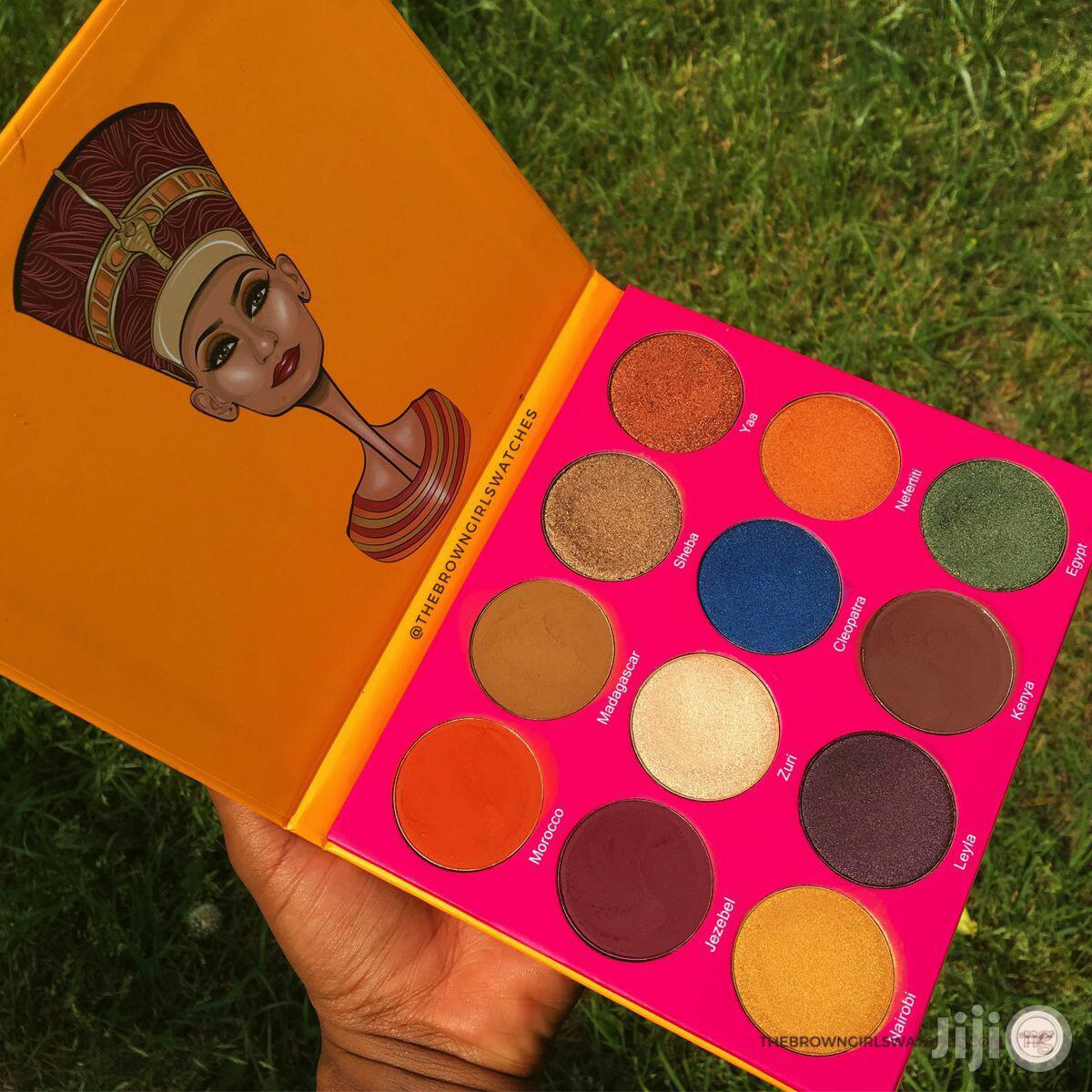 Archive: Juvia'S Place Nubian 12 Colour New Matte Eyeshadow Palette