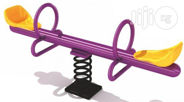 Archive: Rocking Spring Seesaw