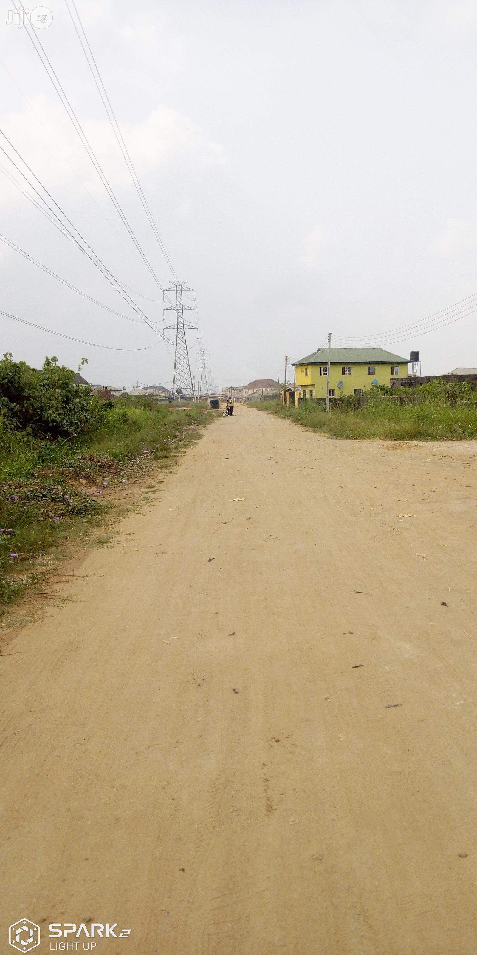 3 Plot Of Land With A Structure Of 3 Bed Bungalow On It Available At Magboro Suitable For Sale