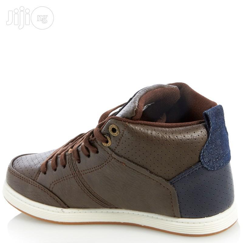 Archive: Levis Giles Milestone High Top Sneaker