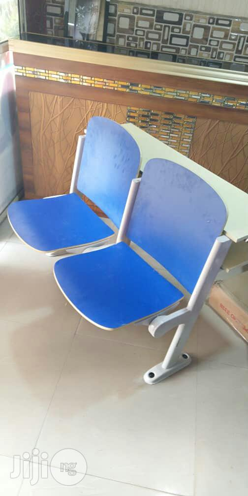 Auditorium Plastic and Wooden Chair | Furniture for sale in Central Business Dis, Abuja (FCT) State, Nigeria