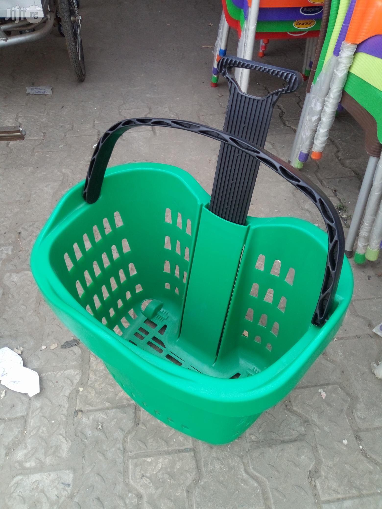 Superb Plastic Super Market Trolley Brand New