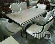 Quality Marble Dining Table. With Six Chairs | Furniture for sale in Lagos State, Ajah