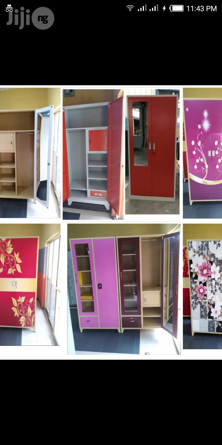 Imported New Design Metal Book Shelve And Wardrobe