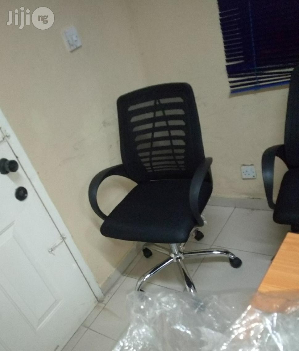 Quality Mesh Swivel Office Chair Black