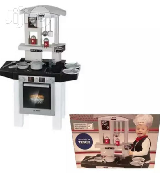Archive: Bosch Toy Kitchen Cooking Station With Electronic Sound