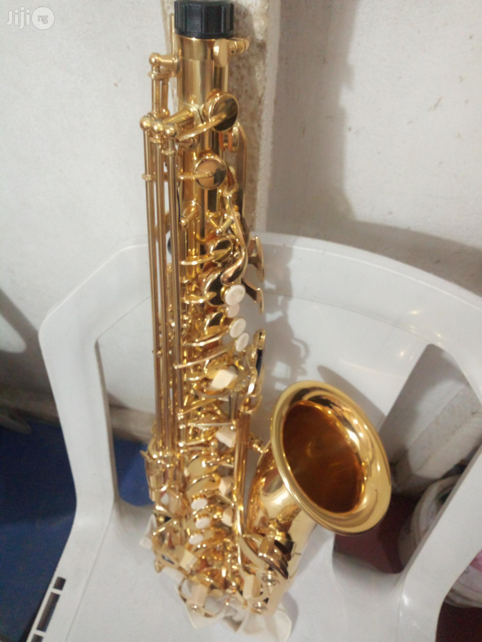 Alto Saxophone (Gold) | Musical Instruments & Gear for sale in Ojo, Lagos State, Nigeria