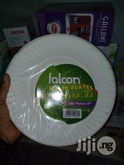 100 Falcon Disposable Plates for Party | Kitchen & Dining for sale in Lagos State, Surulere