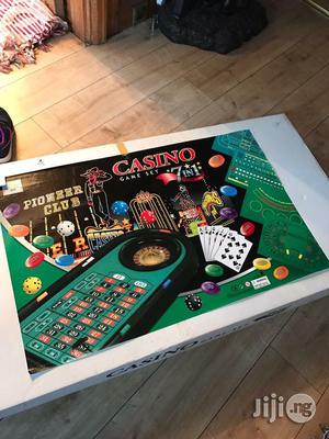 Casino Game Table Set 7 In 1 Pioneer Club