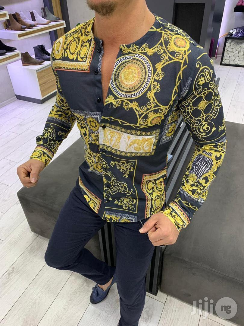 Versace Turkey Shirt For Men