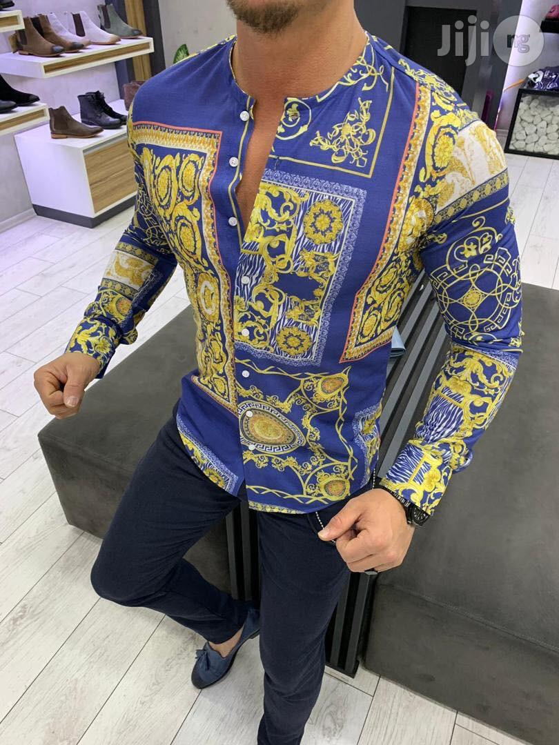 Versace Turkey Shirt For Men | Clothing for sale in Lagos Island (Eko), Lagos State, Nigeria