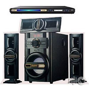 Djack 3.1CH Powerful Bluetooth Home Theatre System DJ-503 + DVD Player   Audio & Music Equipment for sale in Lagos State, Ojo