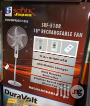 12v Rechargeable Fan   Home Appliances for sale in Lagos State, Ojo