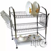 Prima 3 Layer Chrome Steel Dish Drainer - White | Kitchen & Dining for sale in Lagos State