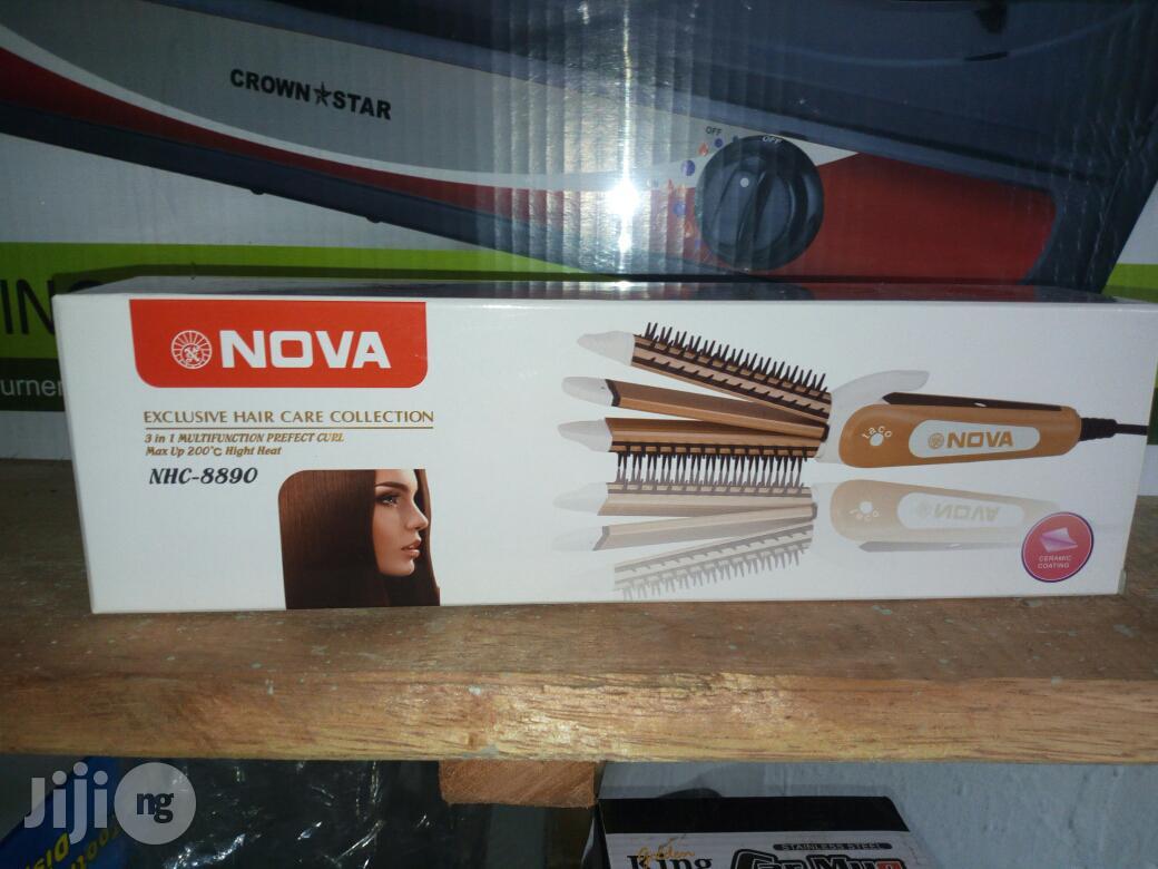 Archive: Nova 3 in 1 Hair Straightener, Curler and Crimper