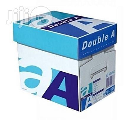 Archive: Double A4 PAPER- 1 Carton Of 5 Reams, 80gms Paper