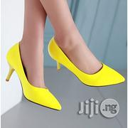 Forever 21 Women Heel Court Shoe Yellow | Shoes for sale in Lagos State, Oshodi-Isolo