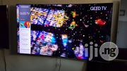 Samsung Smart Qled Curved 55 Inches Ultra Slim Led Tv | TV & DVD Equipment for sale in Lagos State, Ojo