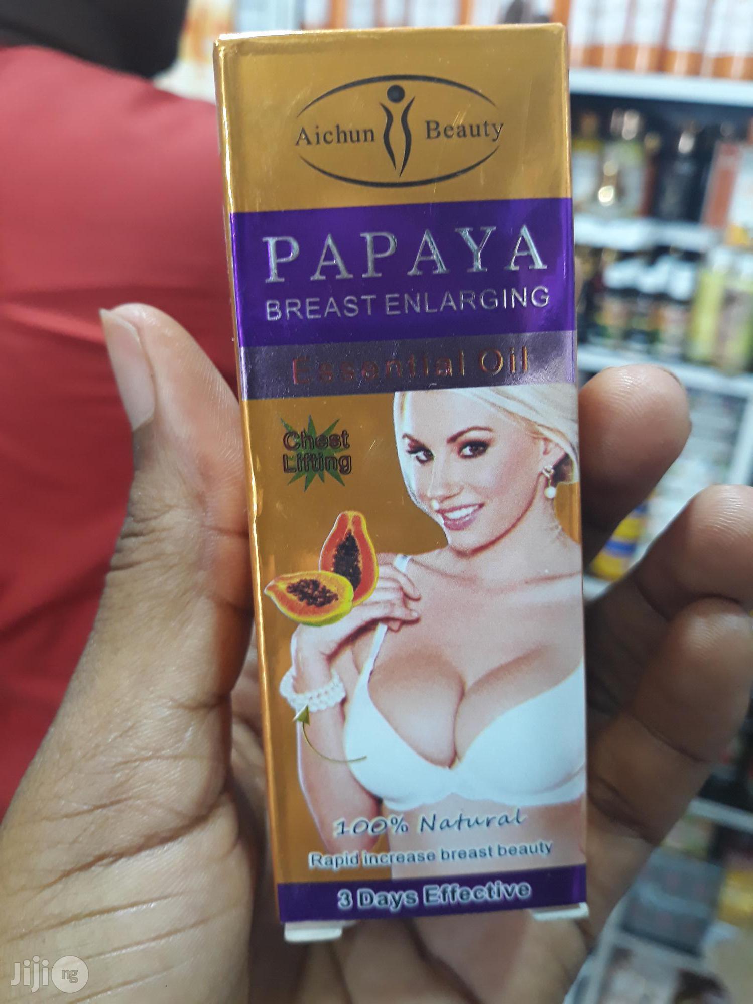 Natural Papaya Breast Lifting Enlargement Enlarging Essential Oil 30ml