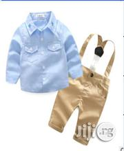 Boys Button Down Shirt,Chinos Trouser, and Suspender | Children's Clothing for sale in Lagos State, Surulere