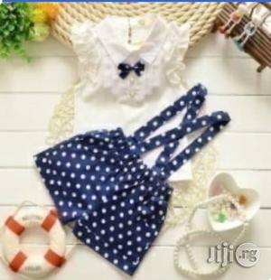 Girls Unique Short Dungarees and Top | Children's Clothing for sale in Lagos State, Surulere