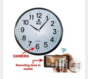 High Definition Spy Wifi Wall Clock Camera   Security & Surveillance for sale in Lagos State, Ikeja