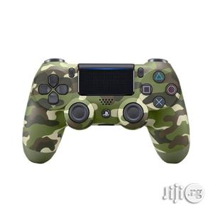 Sony PS4 Controller Pad - Dualshock 4 Wireless Controller - Army Green | Accessories & Supplies for Electronics for sale in Lagos State, Ikeja