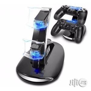 Dual Wireless Charger For PS4 Controller | Accessories & Supplies for Electronics for sale in Lagos State, Ikeja